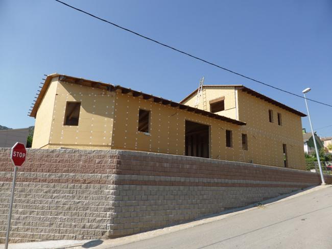 Construcció a Os de Balaguer